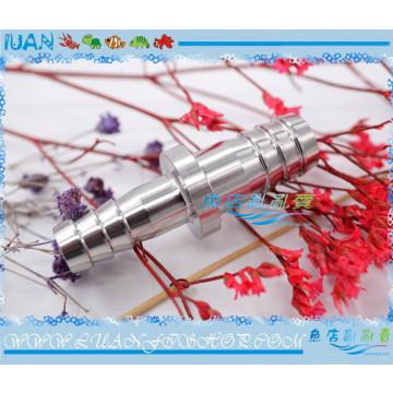 304不銹鋼軟管水管轉接頭(9mm轉12mm)管徑連接9/12mm轉12/16mm