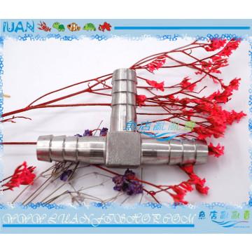 金屬304不銹鋼12/16mm水管軟管專用連接分流用T型3通