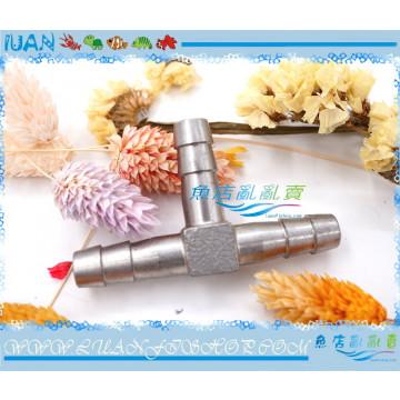 LUAN金屬304不銹鋼9/12mm水管軟管專用連接分流用T型3通