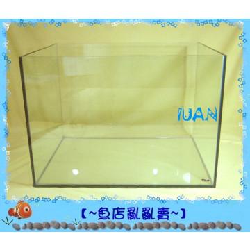 伊士達ISTA四方超白玻璃開放型玻璃(招財缸)2尺空缸(60*45*45公分,厚8mm)