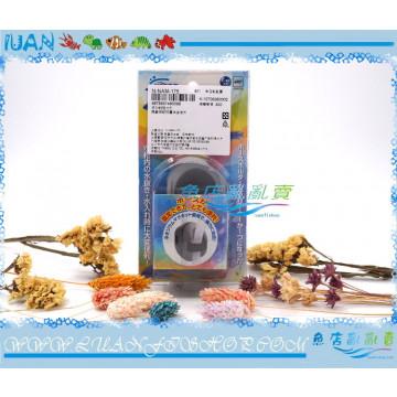 日本NISSO尼索-多功能磁力刷(魚缸清潔刷)可做水管固定夾使用/浮力刷/水管夾