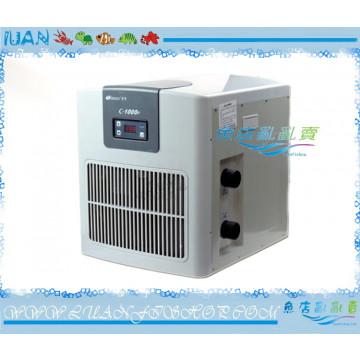 日生RESUN冷卻機CW1000日本壓縮機1HP(冷水機)全新款塑鋼外殼3600L