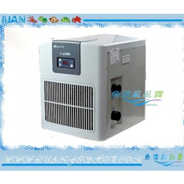 日生RESUN冷卻機CW0500日本壓縮機1/2HP(冷水機)全新款塑鋼外殼2500L