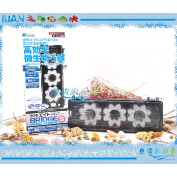 日本SUISAKU水作-上部微生物過濾器(含馬達)S型(適用30~40cm魚缸)伸縮式過濾槽