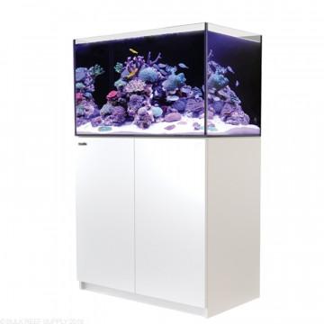 Red Sea紅海REEFER 250海水超白玻璃珊瑚礁岩套缸90X50X53cm(白色)底部過濾