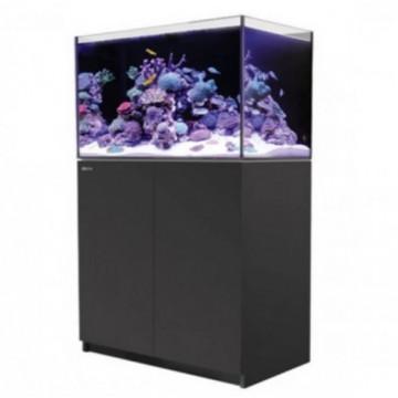 Red Sea紅海REEFER 250海水超白玻璃珊瑚礁岩套缸90X50X53cm(黑色)底部過濾