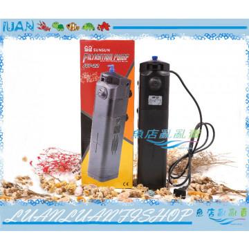 SUNSUN森森JUP-22内置沉水三合一UV殺菌燈9W過濾器800L/H(溶氧.殺菌.淨水)