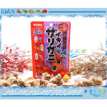 日本Hikari高夠力-飼育教材-螯蝦飼料40g(水晶蝦 大河藻蝦 螃蟹)蝦蟹專用飼料