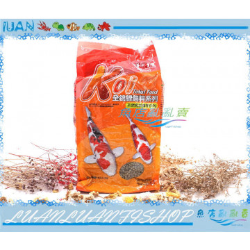 HT331ML台灣Alife海豐Koi全錦鯉綠藻飼料1kg中大粒(綠)錦鯉魚飼料1包/5包/10包/20包