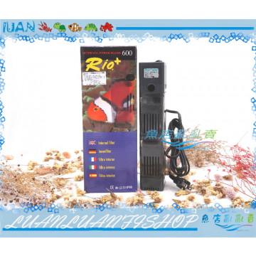 台製RIO摩爾PF600沉水過濾器(760L/H)耐用 . 耐超(含濾杯)內置過濾馬達