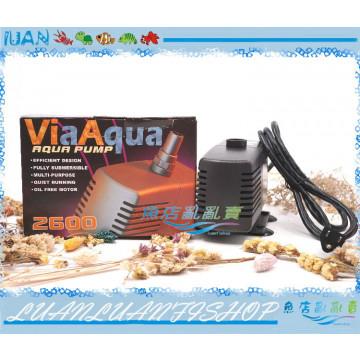 VA美國Via Aqua水陸.海陸兩用沉水馬達VA-2600(2800L)堅固耐用VA2600