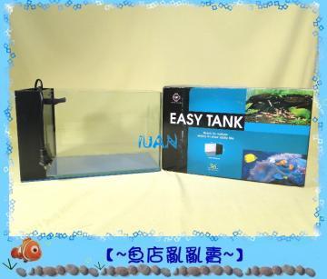 台灣UP雅柏時尚小彎角ㄇ型玻璃套缸30cm白色(含上蓋+上部過濾+螺旋9W燈具)