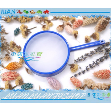 餌料生物撈網9cm豐年蝦卵及輪蟲橈足用300目塑膠濾網(另有80目.200目)不破撈網