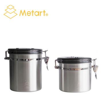 Metart 咖啡豆密封罐 (附單向透氣閥)225g/450g