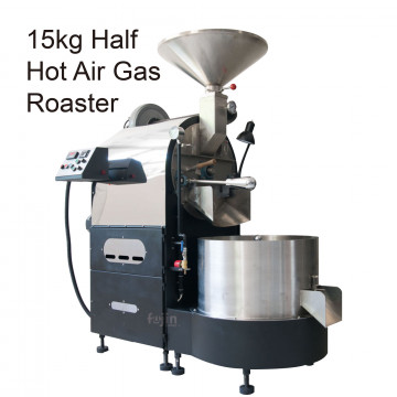 【FUJIN】CRAFTSMAN 15公斤半熱風瓦斯咖啡烘豆機-商用經典款