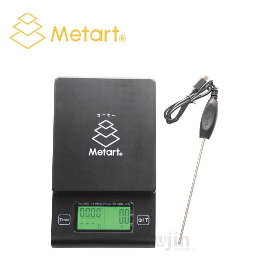 Metart 計時測溫電子秤(附溫度計)