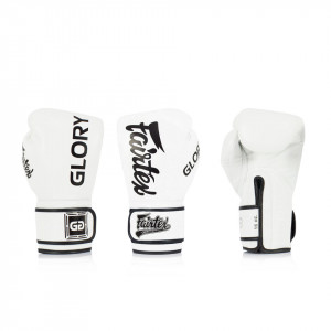 Fairtex X Glory Kickboxing 限量聯名款 - 白 - BGVG1