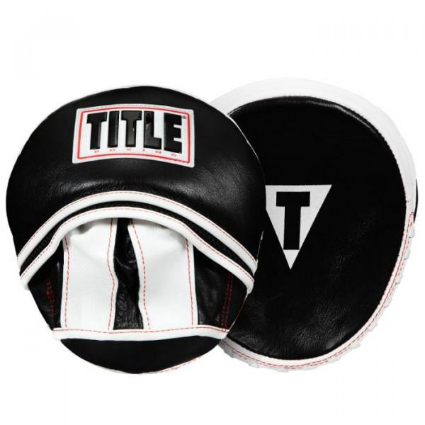 TITLE 日蝕系列 專業拳擊訓練手靶 - 黑/白 - WBMM