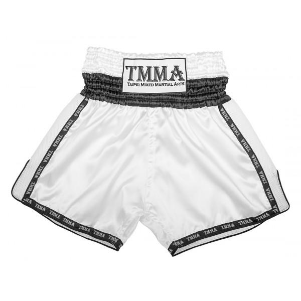 【TMMA限定】專業泰拳褲 - 白 - TMMA TP ARIYA-001