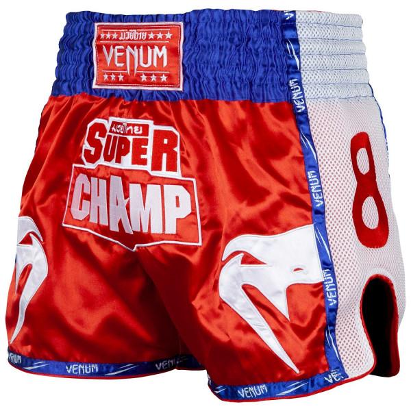 VENUM 超級冠軍系列 泰拳褲 -紅- EU-03820-003
