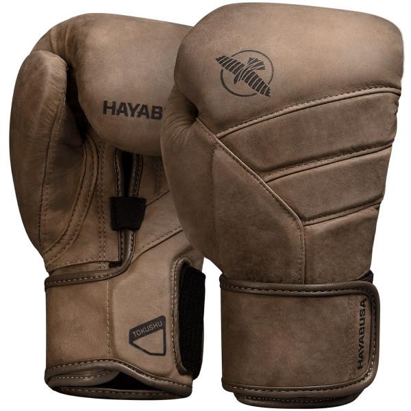 HAYABUSA T3 LX系列 專業拳擊手套 - 棕色 -T3LX12G-BR