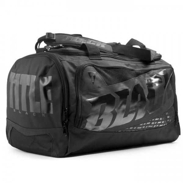 TITLE 極黑野獸 運動旅行袋/護具袋 - 黑 - BKBAG2