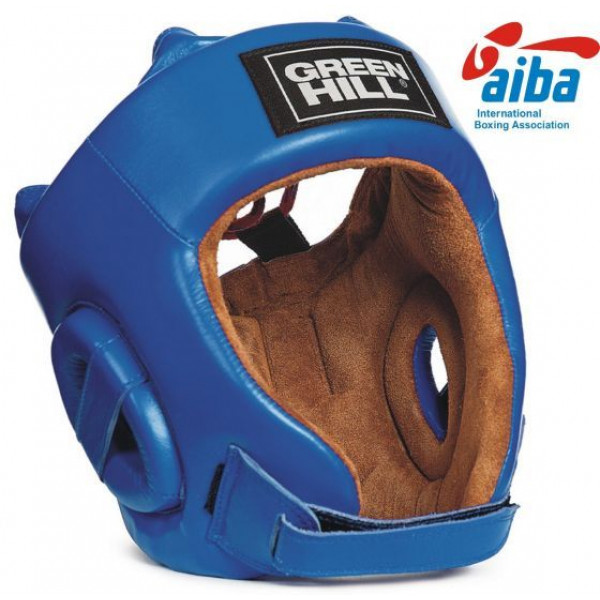 GREENHILL AIBA認證頭盔 - 藍 - HGF-4012A