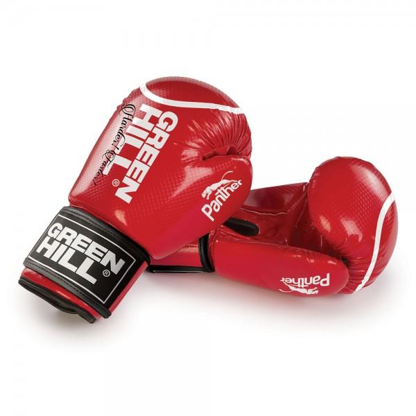 GREENHILL 黑豹系列 專業拳擊訓練手套 - 紅 - BGPC-2098