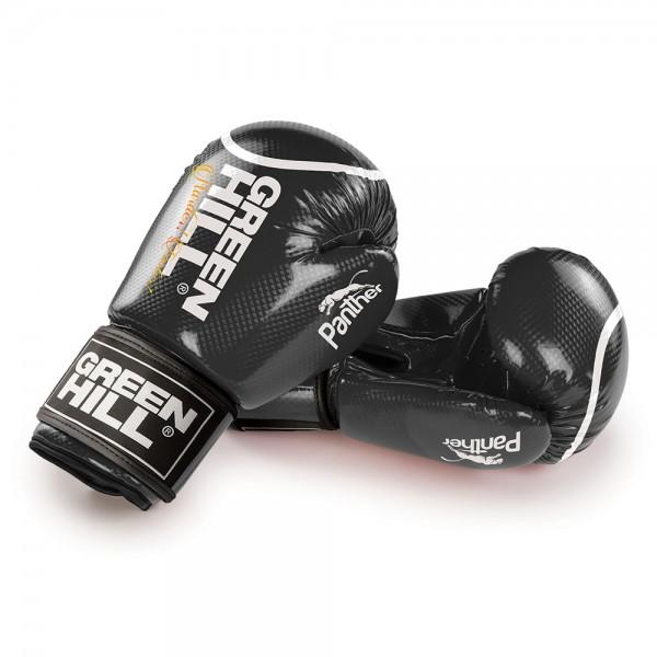 GREEN HILL 黑豹系列 專業拳擊訓練手套 - 黑 - BGPC-2098