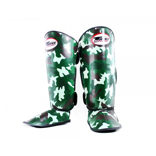 TWINS 迷彩系列 護腳脛 - 綠 - FSGL2-AR