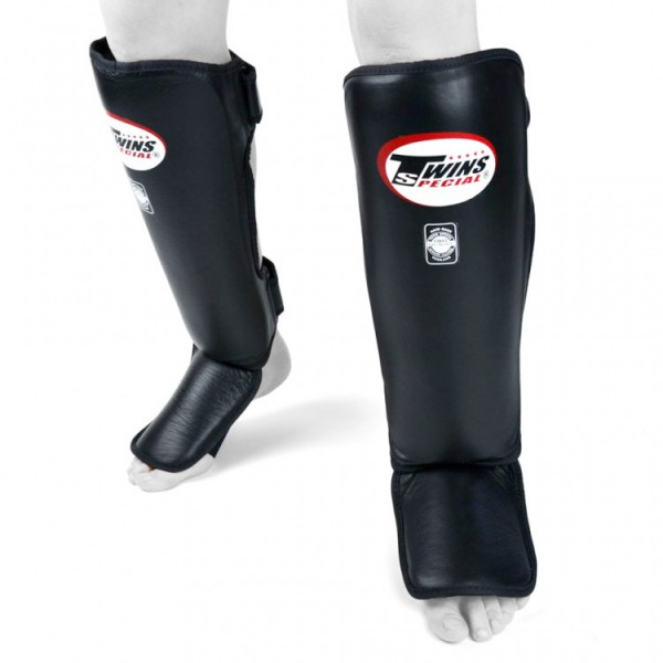 TWINS 經典素色 護腳脛 - 黑 - SGL3 PL BK