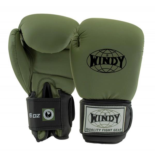WINDY 經典兒童拳擊手套 - 橄欖綠 - BGVU