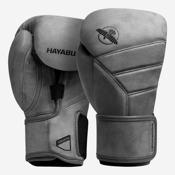 HAYABUSA T3 LX系列 專業拳擊手套 - 灰 - T3LX12G-G