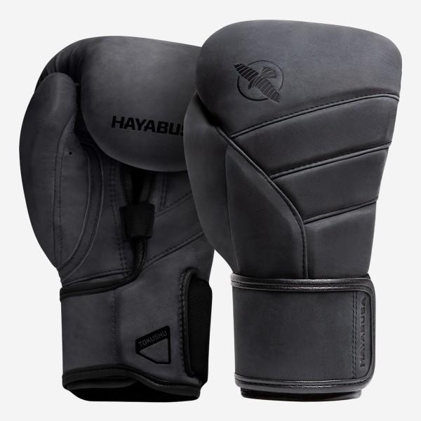 HAYABUSA T3 LX系列 專業拳擊手套 - 黑 - T3LX12G-B