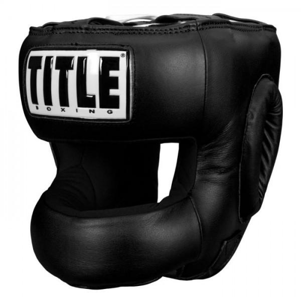 TITLE 真皮護弓型 頭盔 - 黑 - TFP BK