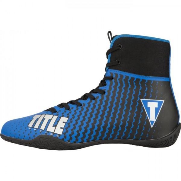 TITLE PREDATOR II 中筒拳擊鞋 - 藍/黑 - TBS12