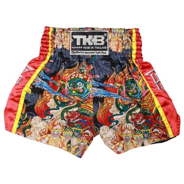TOP KING 專業泰拳褲 泰國浮世繪 - TKTBS-205