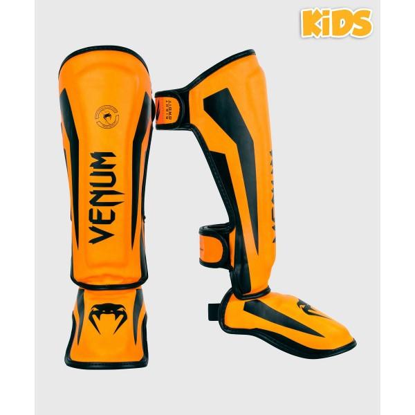 VENUM 菁英戰士系列 兒童護腳脛 - 螢光橘 - EU-03235-016