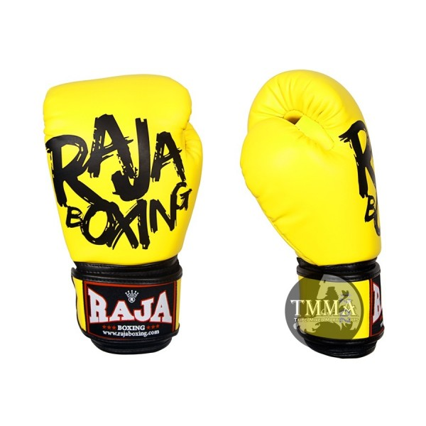 RAJA MODEL 4系列 拳擊手套 - 螢光黃 -RFGV-TT-V2