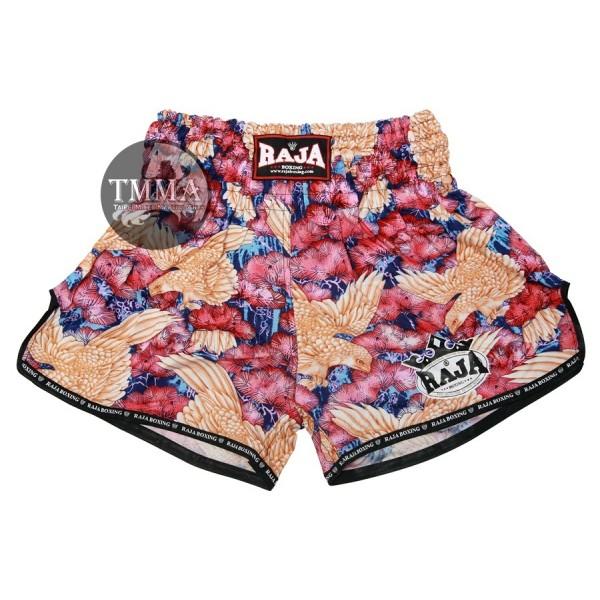 RAJA 專業泰拳褲 - 粉紫 - SP181-1