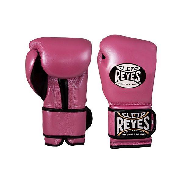 CLETO REYES 專業級拳擊訓練手套 - 粉紅 - E612P