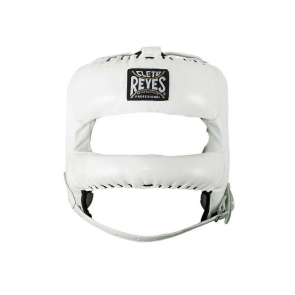 Cleto Reyes 專業級拳擊訓練頭盔(護弓型) - 白 - E387B