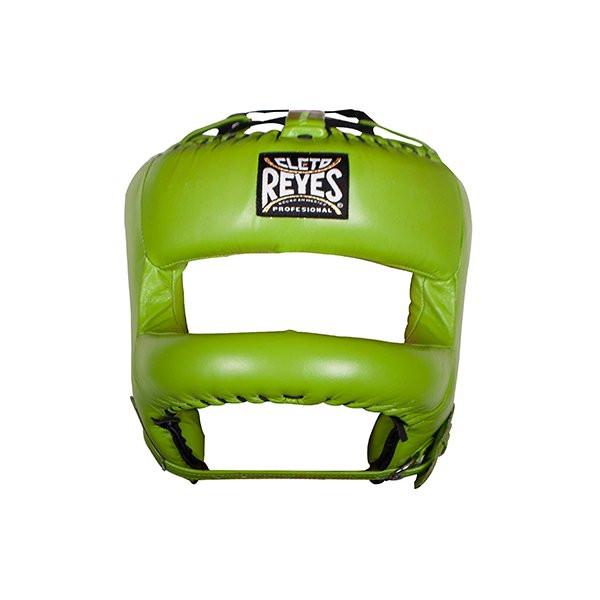 Cleto Reyes 專業級拳擊訓練頭盔(護弓型) - 綠 - E387CG