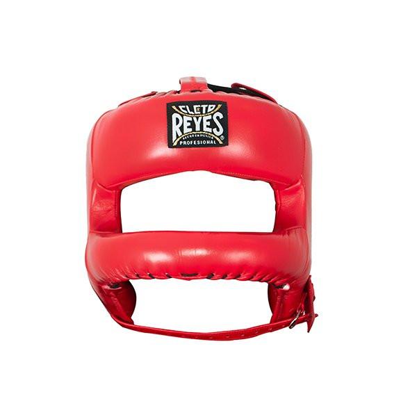 CLETO REYES 專業級拳擊訓練頭盔(護弓型) - 紅 - E387R