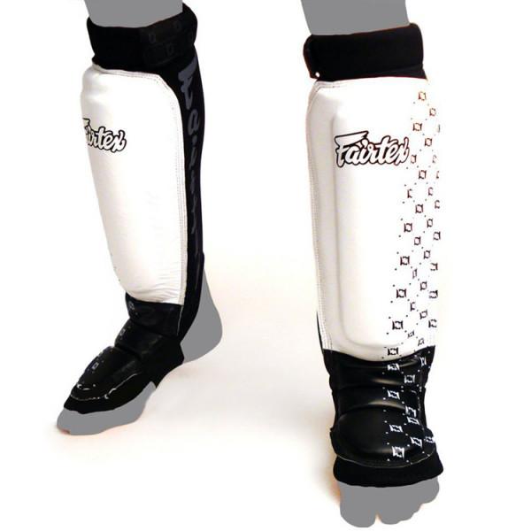 FAIRTEX 護腳脛 - 白/黑 - FA SP6