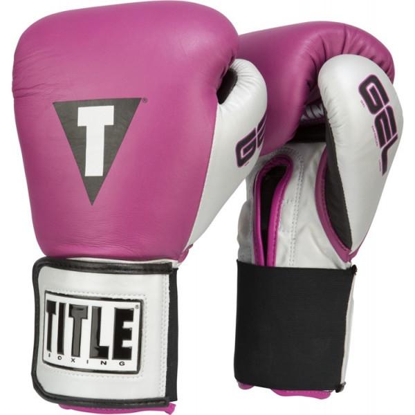 TITLE 專業拳擊訓練手套 - 紫/銀/黑 - GTWGEV2T
