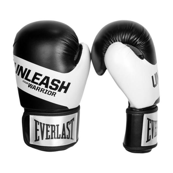 EVERLAST UNLEASH系列 專業拳擊手套 - 黑 -4825360020