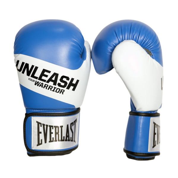 EVERLAST UNLEASH系列 專業拳擊手套 - 藍 -4825360080