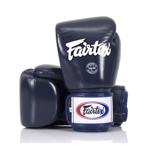 FAIRTEX  經典款真皮拳擊手套 - 藍 - BGV1