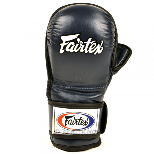 FAIRTEX MMA 露指拳套 - 藍 - FGV15